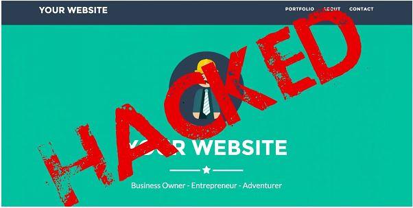 website bị hacker chèn mã độc