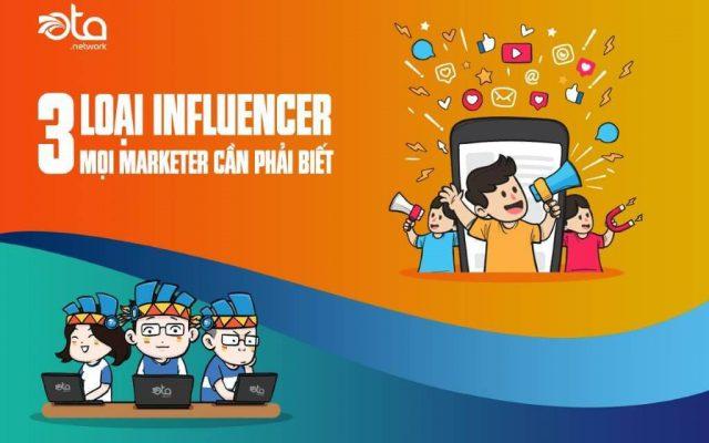Các loại influencers