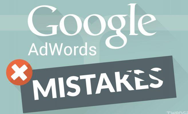sai lầm khi chạy quảng cáo google adwords