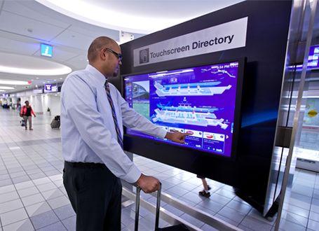 Hình thức quảng cáo LCD có tương tác