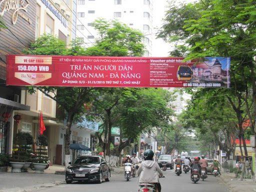 Quảng cáo phướn băng-rôn tại Đà Nẵng