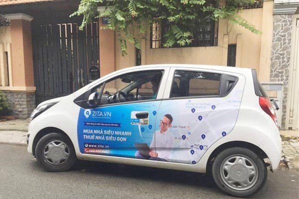 lợi ích khi quảng cáo trên xe ô tô