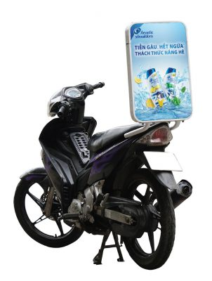 Quảng cáo trên xe máy là gì
