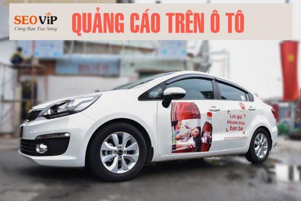 Quảng cáo trên xe ô tô tại Đà Nẵng