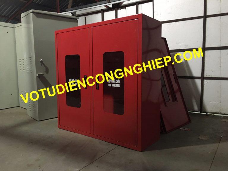 Cơ điện Delta - Votudiencongnghiep gia công tủ chữa cháy số lượng lớn